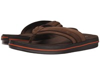 Tommy Bahama Relaxology Jacobst Dark Brown Men's Sandals