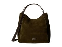 Frances Valentine Medium June Suede Hobo Olive Hobo Handbags