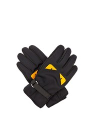 Fendi Bag Bugs Print Gloves Black
