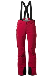 Jack Wolfskin Ionic Waterproof Trousers Indian Red
