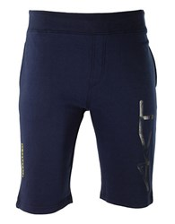 Kappa French Terry Athletic Shorts Blue