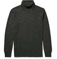 Neighborhood Lub Cotton Jerey Rollneck T Hirt Charcoal