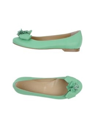 Twin Set Simona Barbieri Ballet Flats Light Green