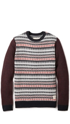 Native Youth Contrast Sleeve Sweater