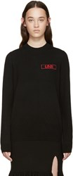 Givenchy Black Cashmere Love Sweater