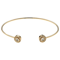 Cachet London Disco Ball Bangle Gold
