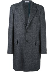 Boglioli Single Breasted Coat Grey