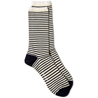 Norse Projects Bjarki Stripe Socks White
