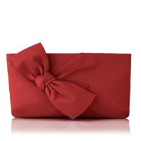 Lk Bennett Fay Zip Top Clutch Cherry