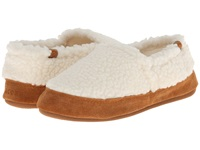 Acorn Moc Buff Popcorn Women's Moccasin Shoes White