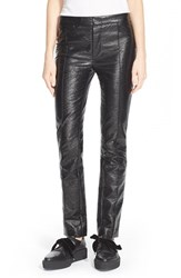 Women's Marc By Marc Jacobs Coated Crinkle Crop Pants