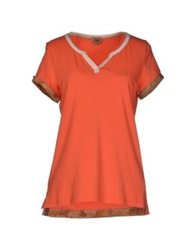 Alviero Martini 1A Classe T Shirts Orange