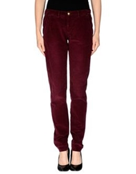 Monocrom Casual Pants Maroon