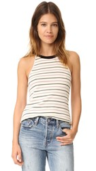 Knot Sisters Rosie Tank Natural Stripe