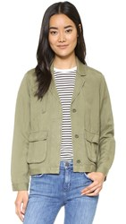 Madewell League Cargo Jacket Military Surplus