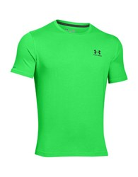 Under Armour Charged Cotton Sportstyle T Shirt Lime