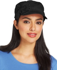 Collection Xiix Crystal Bow Military Cap