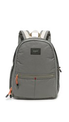 State Bedford Backpack Grey Off White