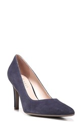 Franco Sarto Women's 'Amore' Pointy Toe Pump Dark Purple Suede