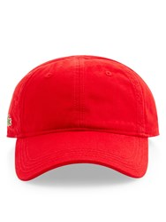 Lacoste Sports Cap Red