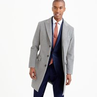 J.Crew Ludlow Peak Lapel Topcoat In Italian Wool Cashmere With Thinsulate