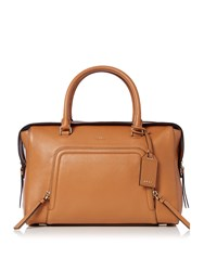 Dkny Chelsea Vintage Tan Large Satchel Tan