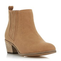 Linea Padrina Ankle Boots Tan