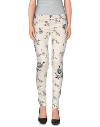 Jcolor Trousers Casual Trousers Women Ivory