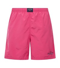 Paul And Shark Swim Shorts Male Pink