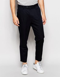 Minimum Cropped Trouser Navy