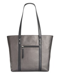 Styleandco. Style Co. Perrie Tote Only At Macy's Pewter Black