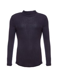 Garcia Turtleneck Jumper Navy