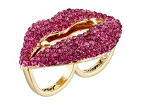 Betsey Johnson Dark Shadows Vampire Ring Pink Ring