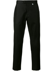 Christopher Kane Contrast Trim Tailored Trousers Black