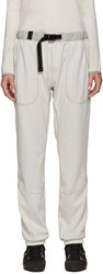 And Wander Off White Belted Lounge Pants