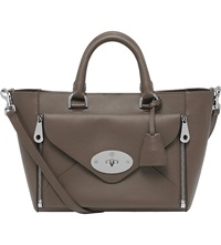 Mulberry Small Willow Tote Taupe