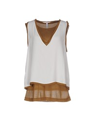 Pianurastudio Topwear Tops Women White