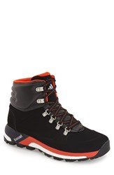 Men's Adidas 'Urban Hiker' Boot Black Bold Orange White