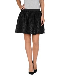 Suncoo Mini Skirts Black