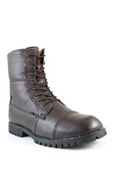 Santana Canada Uptown Weatherproof Leather Faux Fur Lined Boot Brown