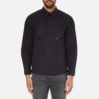 Garbstore Men's Flight Shirt Navy Blue