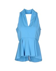 Space Style Concept Topwear Tops Women Azure