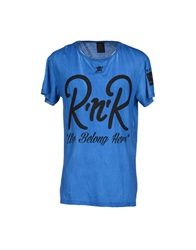 Rock 'N' Roll T Shirts Blue