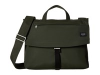 Jack Spade Tech Travel Nylon Folded Messenger Olive Messenger Bags