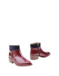 Marian Ankle Boots Dove Grey