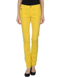 Dirk Bikkembergs Trousers Casual Trousers Women Orange