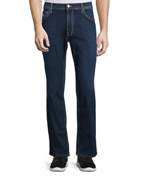 Stefano Ricci Five Pocket Straight Leg Denim Jeans Blue Men's