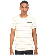 Tavik Tracer Short Sleeve Knit Bone Men's Short Sleeve Knit