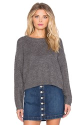 Obey Bianca Sweater Gray