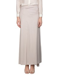 Ann Demeulemeester Skirts Long Skirts Women Grey